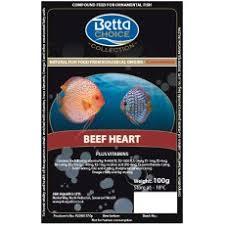 Betta Frozen Beef Heart Blister Pack
